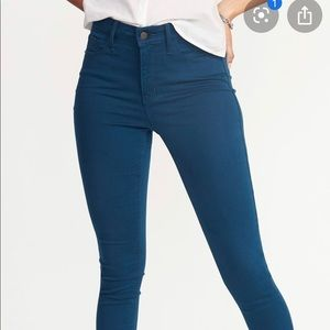 Old Navy High Rise Pop-Color Skinny Jeans